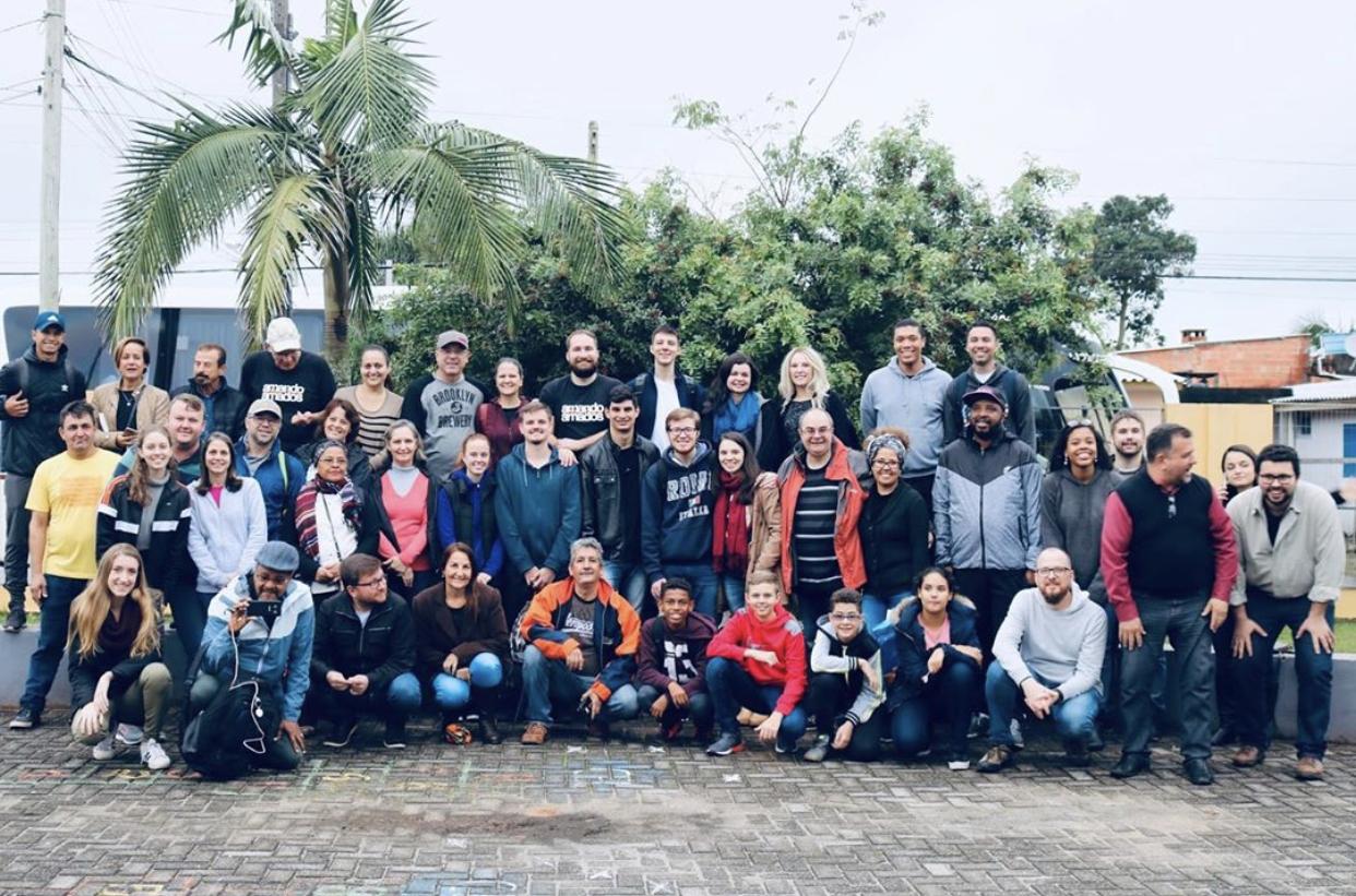 Brazilian Church's Mission Trip To LBM Church Plants
